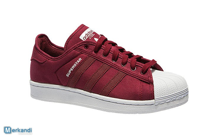 on sale d179a 25d72 ADIDAS SUPERSTAR RED SHOES MEN image 3