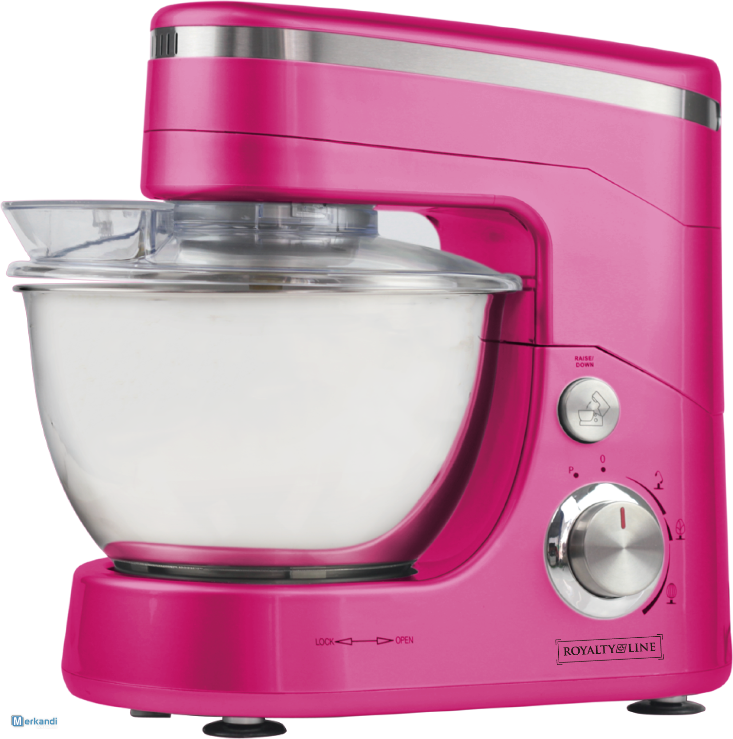 POWER KITCHEN MACHINES RL PKM1400.5 Pink ...