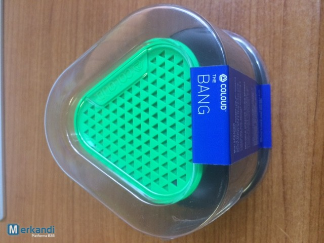 NOKIA MD-1C PORTABLE MINI WIRED SPEAKER-THE BANG BY COLOUD - GREEN ...