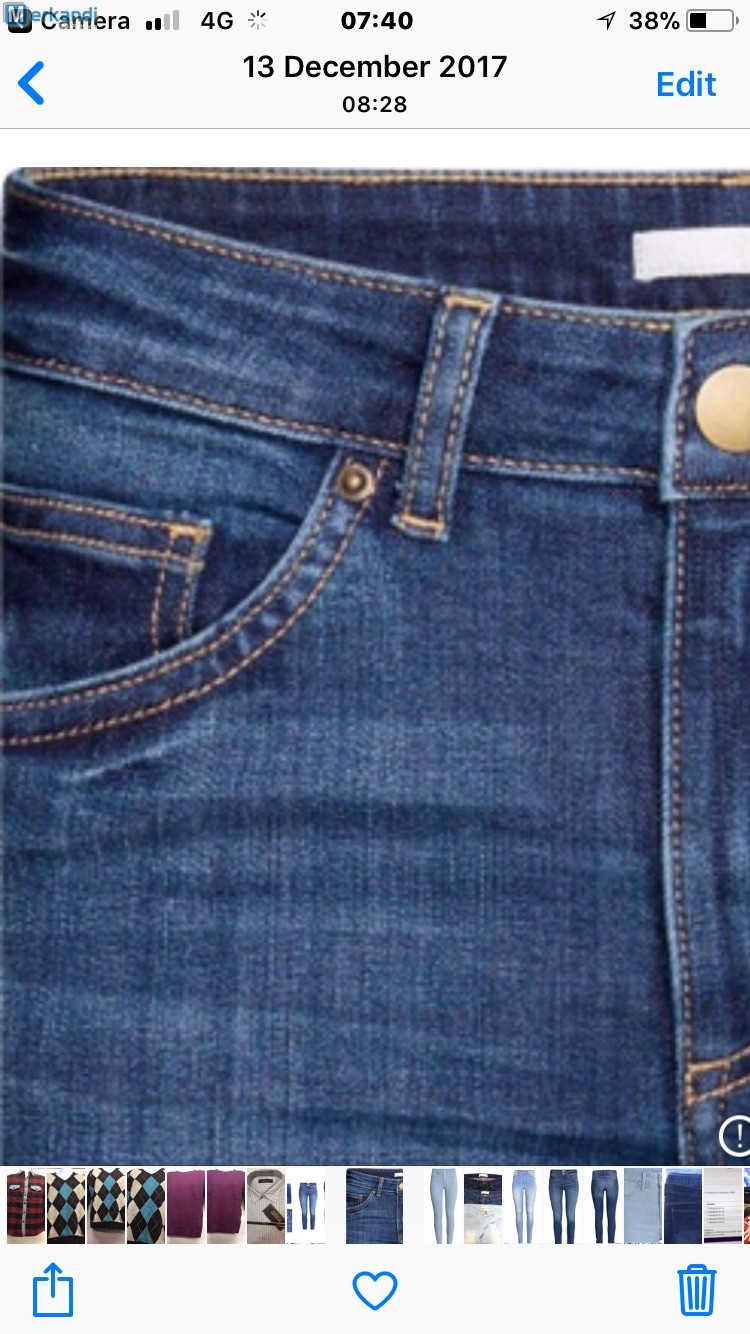 0a322a66 X Zara Jeans Material: 98% Cotton - 2% Elastane RRP£29.50 OUR PRICE ...