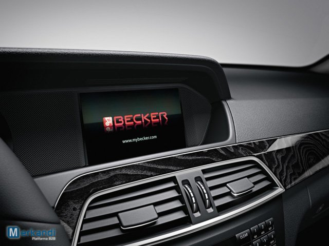 Becker Map pilot GPS for Mercedes-Benz | Car navigation