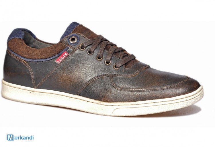 1e2bd9e15c LEVI'S Men's shoes ( Black - dark brown ) [157380] | Men's shoes ...