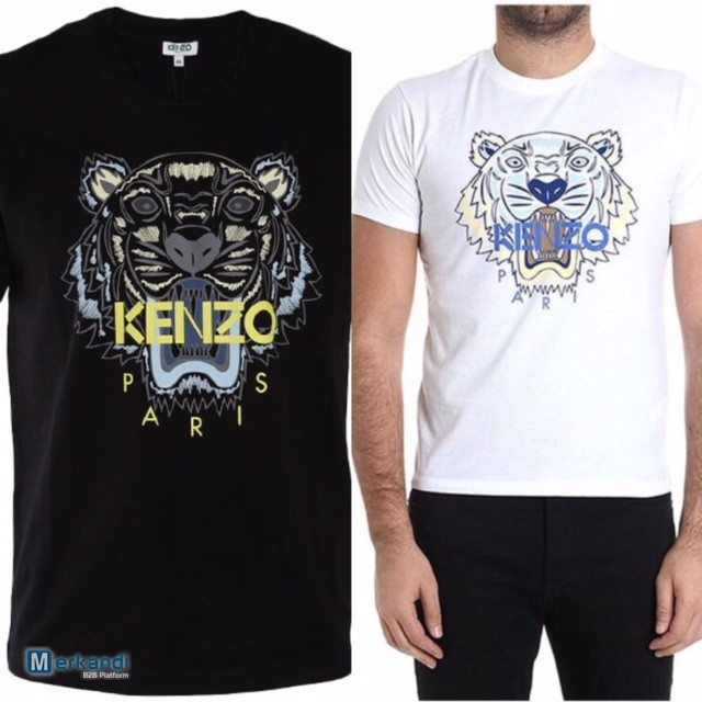 8ea905a3 Supplier lot T shirts Kenzo Classic Tiger | Stock lot clothing ...