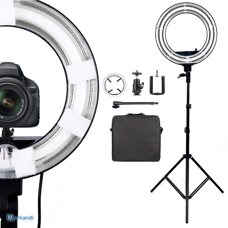 75w Led Studio Light Ring Make Up Selfie Photo Lighting