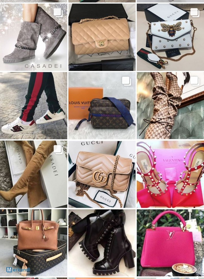 STOCKLOT LUXURY BRAND FOOTWEAR, CLOTHES, BAGS, ACCESSORIES