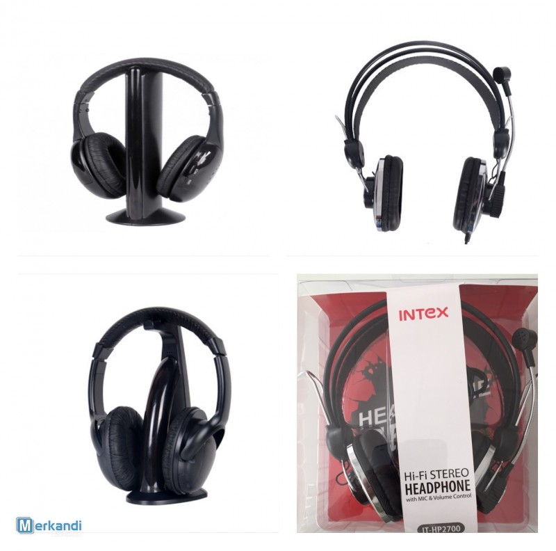 I recommend the offer: Stock Lot of Multi Media headphone 240 Pieces  [292432] | Multimedia | merkandi co uk