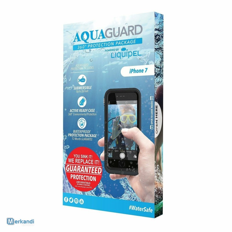 sale retailer 8442a 5393b I recommend the offer: Liquipel AquaGuard Waterproof Protection 360° Case  for iPhone 7/8 [324786] | Mobile phones accessories | merkandi.co.uk