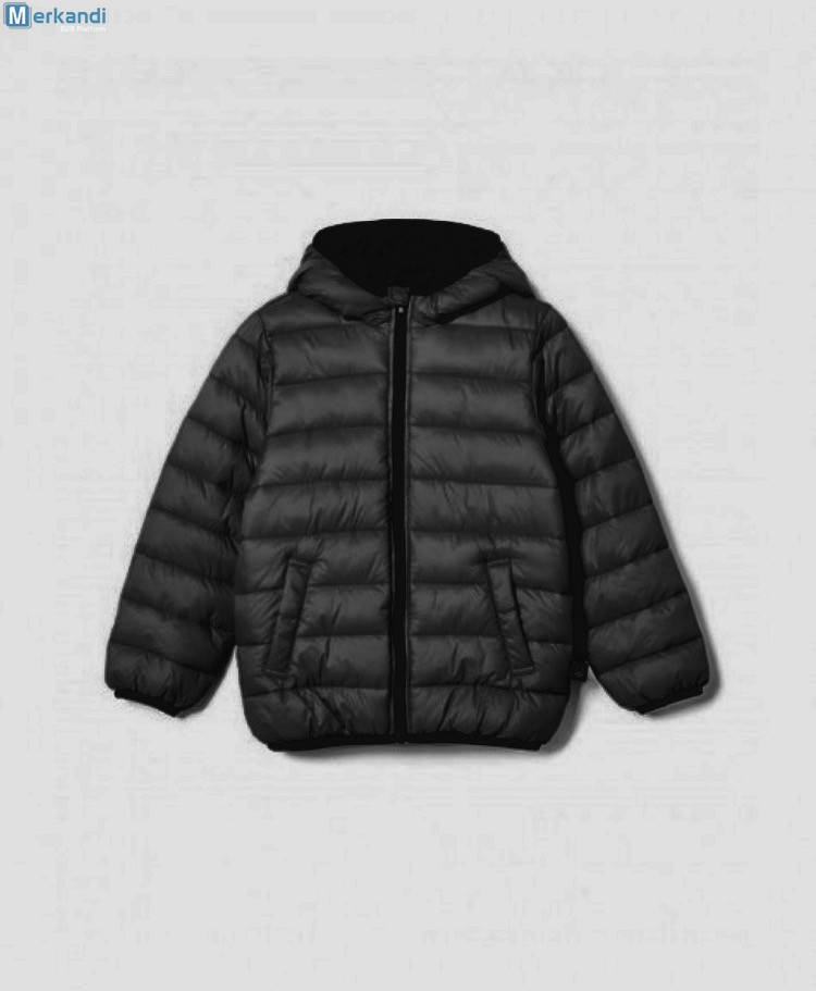 41495ad57 MEN'S BUBBLE COAT HOODED QUILTED PLAIN PADDED PUFFER JACKET £10 ...